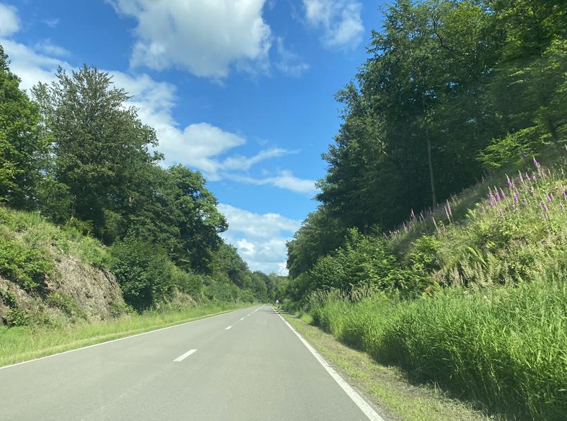 van Herbeumont naar Bouillon via Franse grens