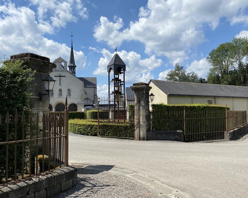 abdij van rochefort ingang