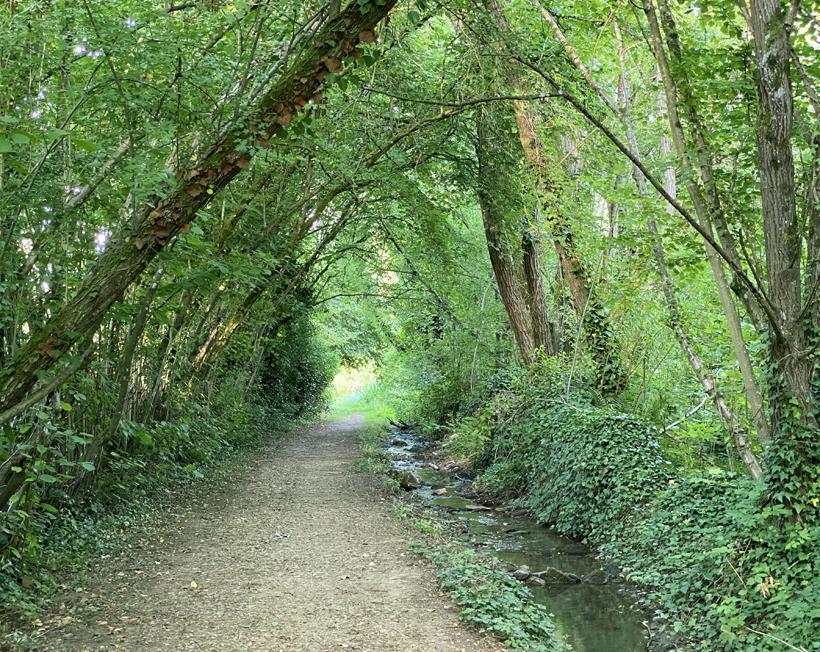 wandeling in Rozerieulles