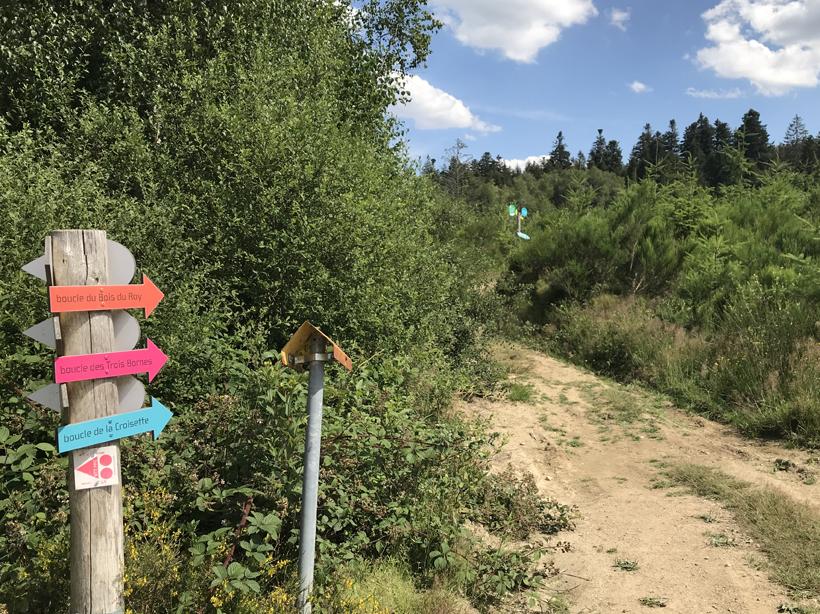 Roze route Haut Folin