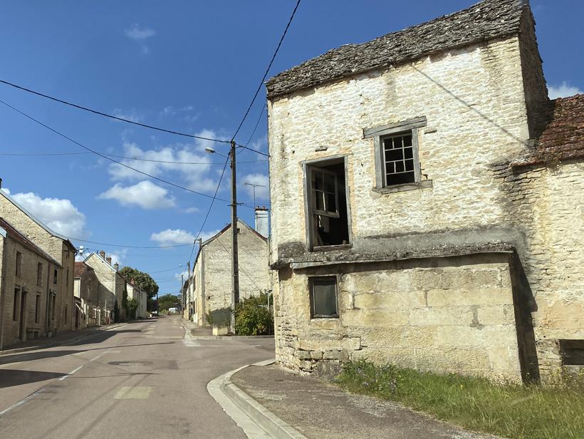 oude huizen in de Marvon