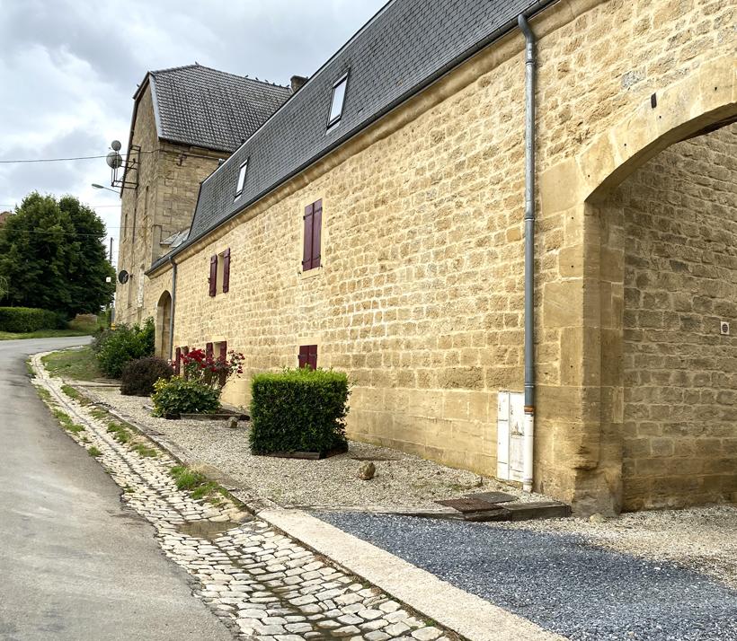 dorpen onderweg naar Bourgogne