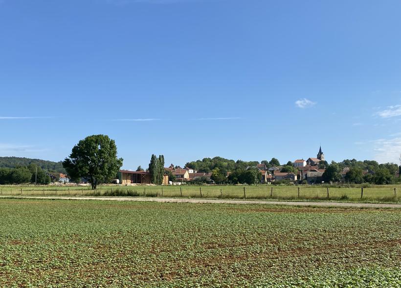 dorpje in Bourgogne