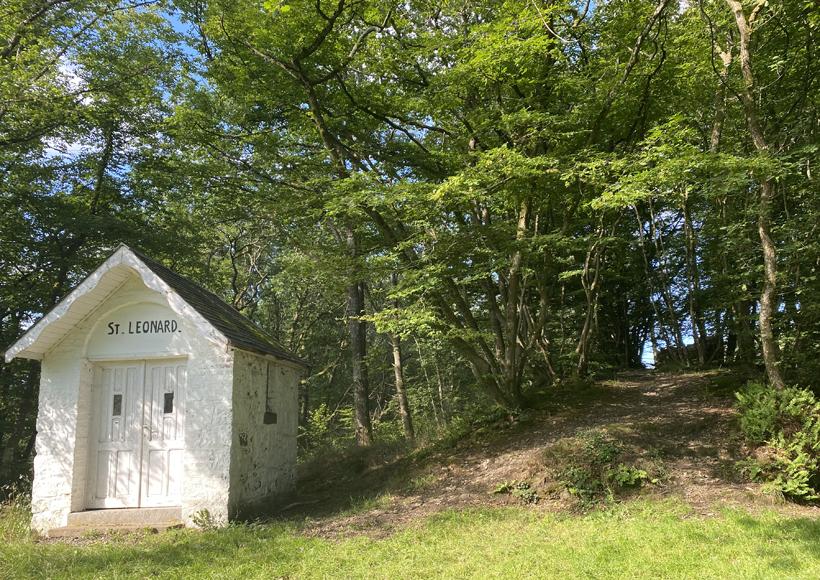 kapel saint leonard in Nassogne