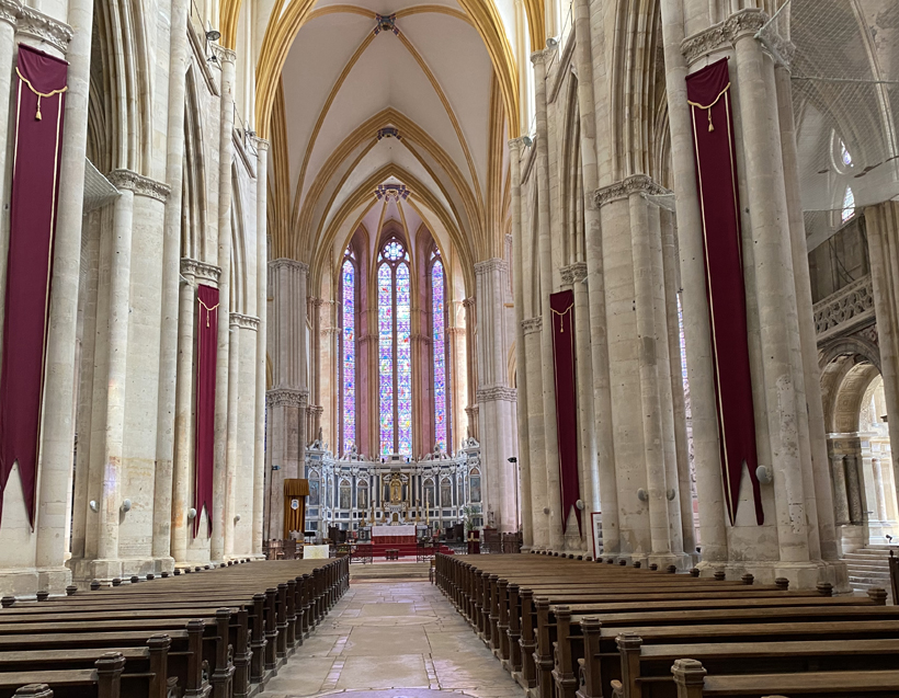 kathedraal toul binnenkant
