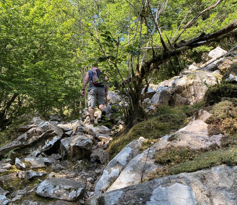 wandelen Gorges de la Canche