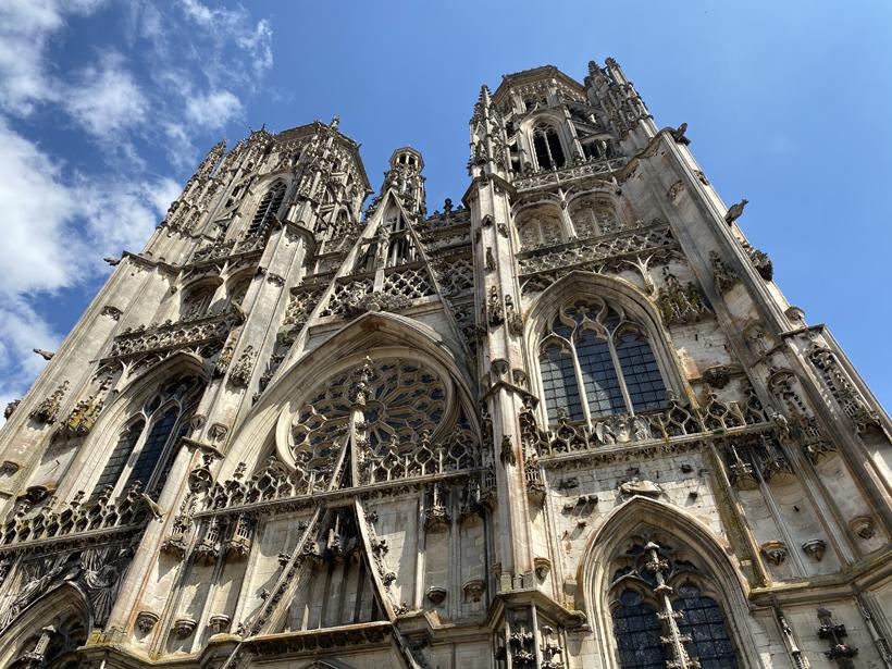 laatgothische gevel kathedraal toul