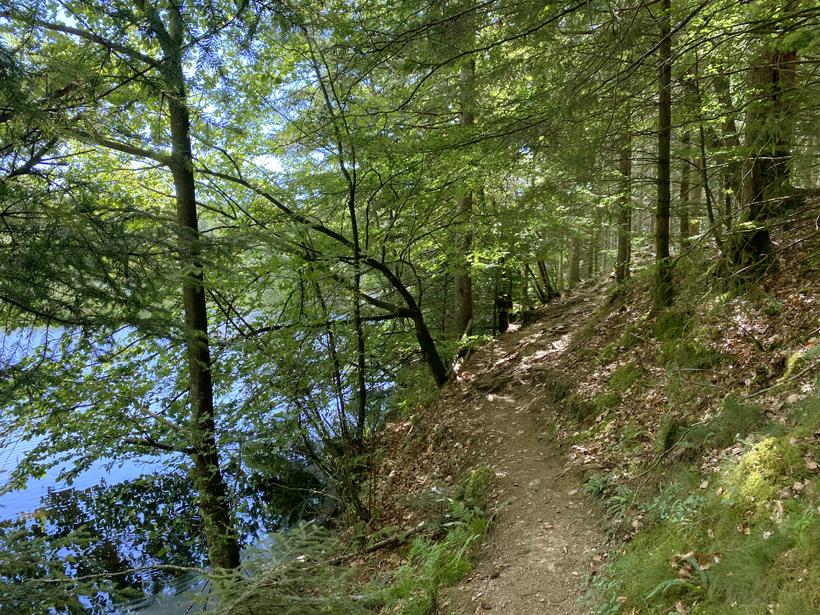 wandelen Lac de la Goulette