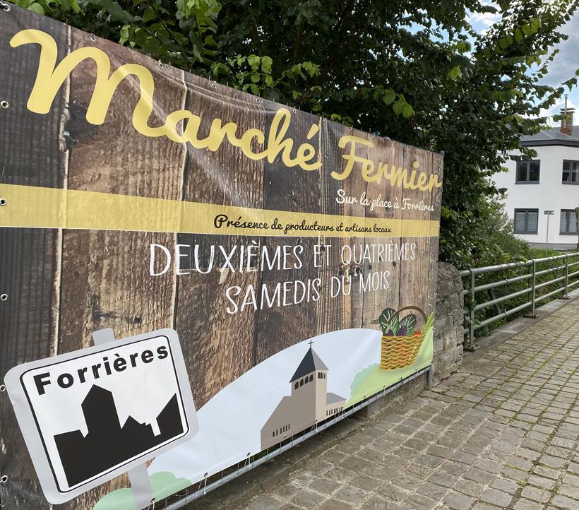 markt in forrieres