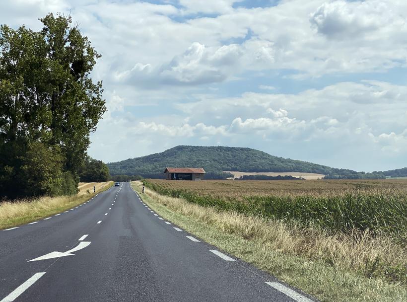 scenic route naar Toul