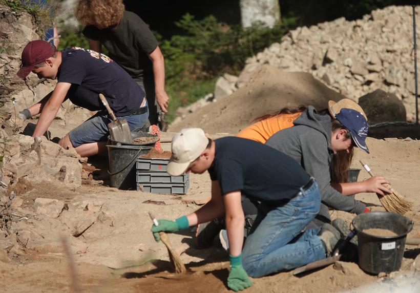 opgravingen bibracte