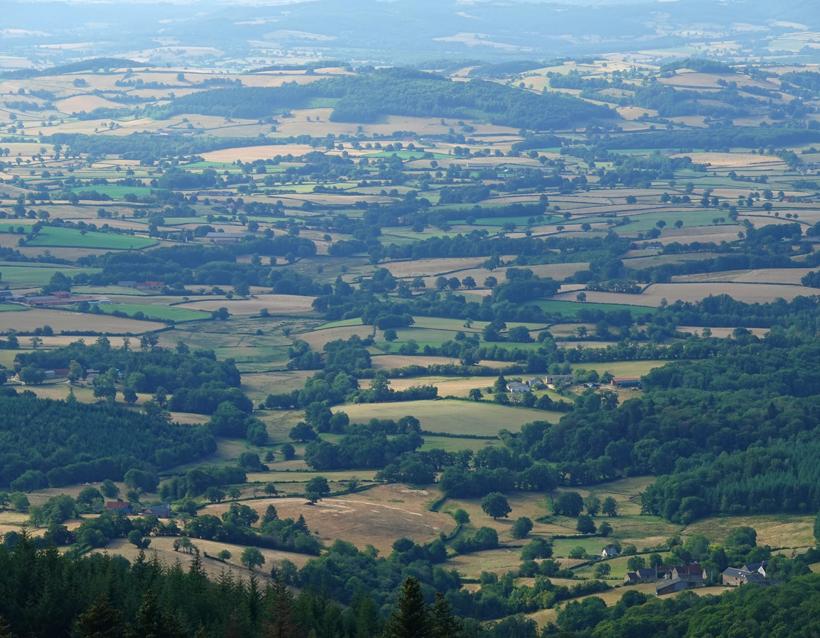landschap de Morvan