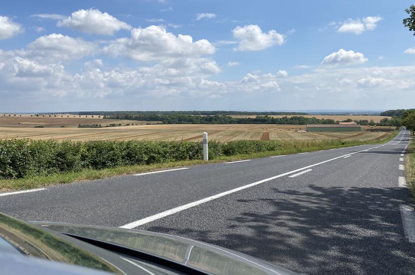 landschap naar Toul