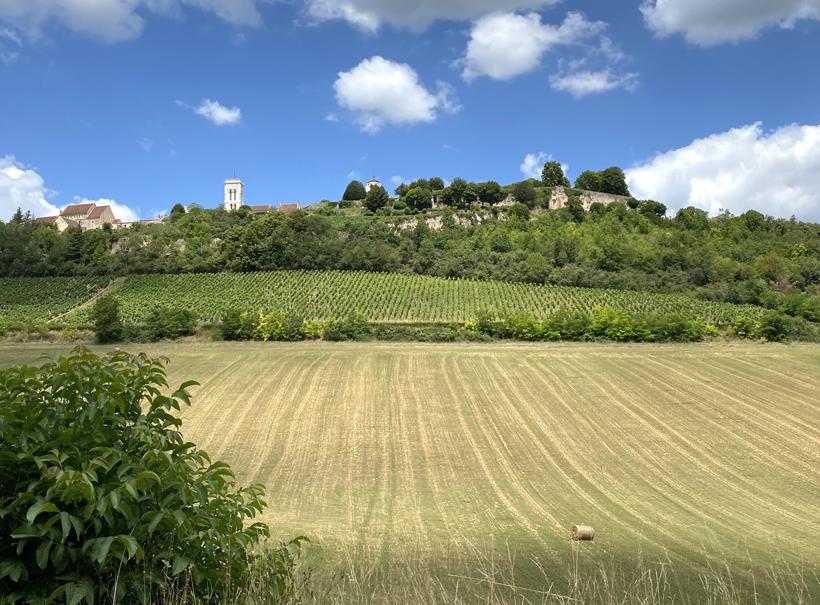 mooiste dorpje in de Morvan Vezelay