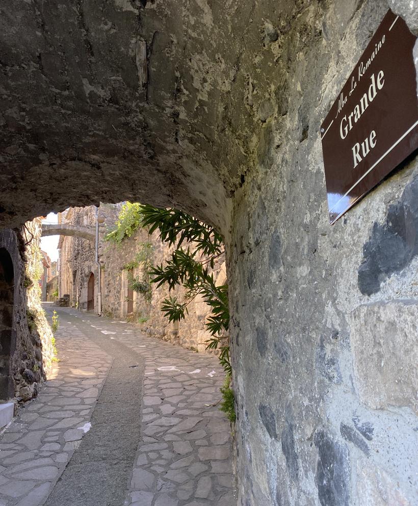 alba la romaine grande rue gewelf