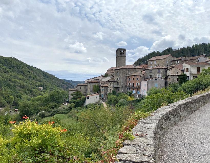 Antraigues dorp