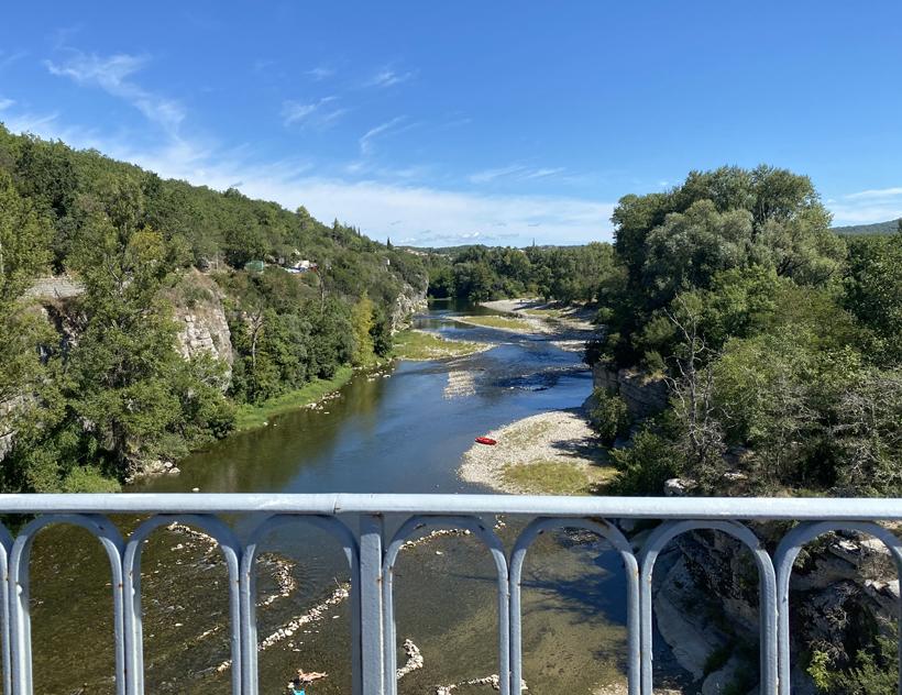 Balazuc brug Ardèche
