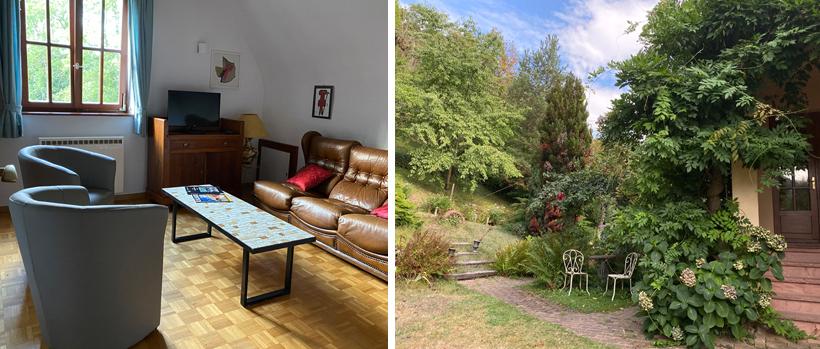 vakantiehuis met tuin in Kaysersberg