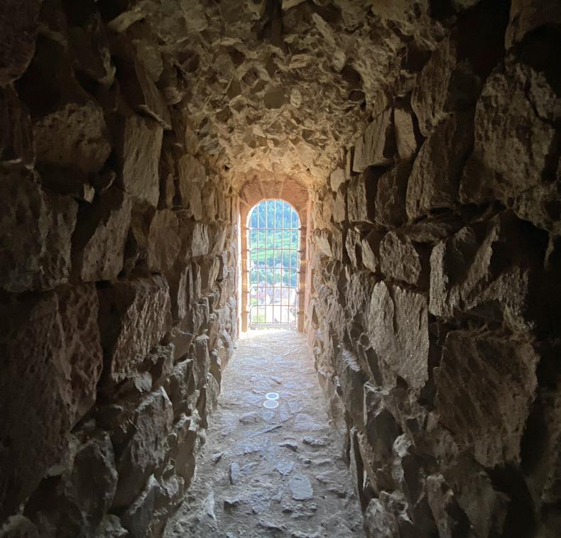 in toren van kasteel Kaysersberg