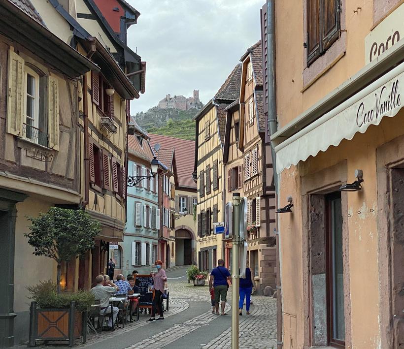 Ribeauville hoofdstraat