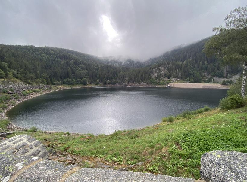 Lac Noir in de Vogezen
