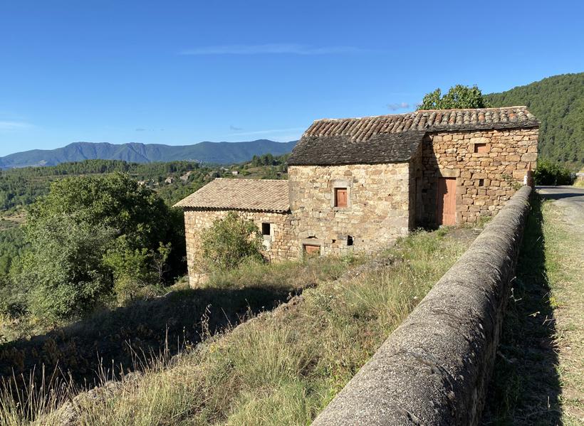 wandeling Moulin de Marceau in Planzolles
