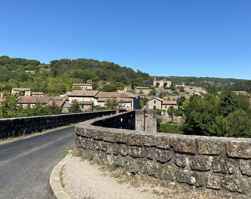 les Vans na wandeling bois païolive Ardèche
