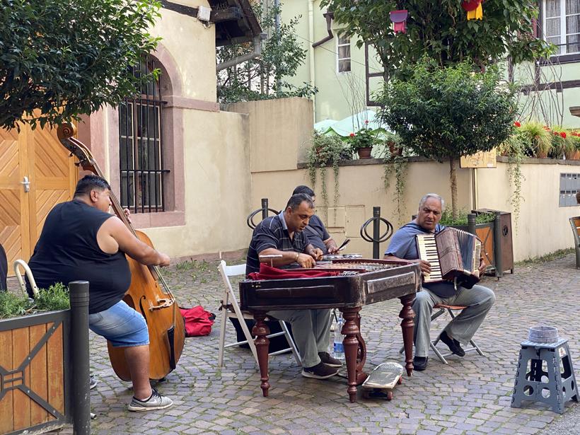 straatmuzikanten ribeauville