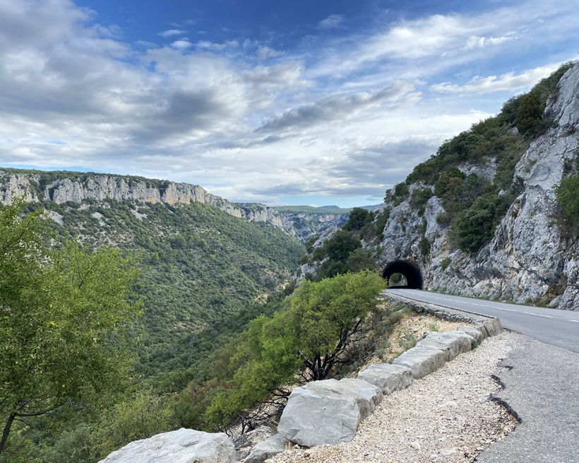wanneer best rijdens langs de gorge d'Ardèche