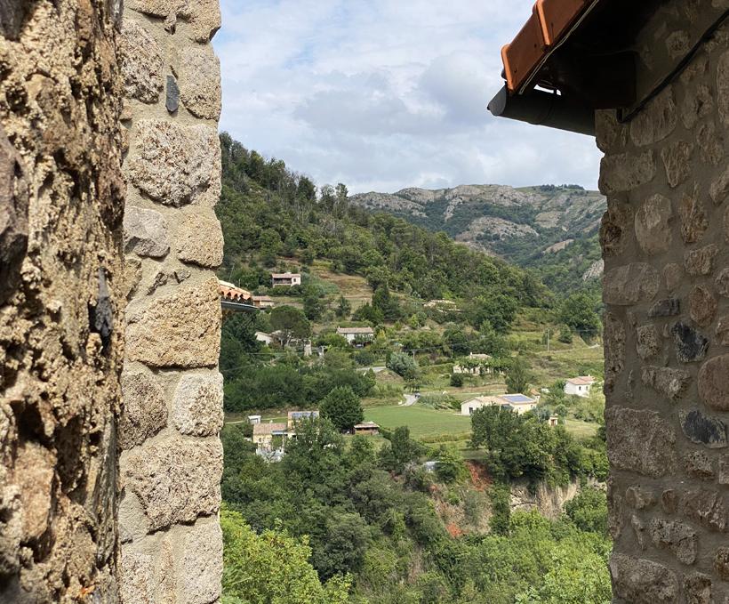Antraigues oud dorp Ardèche