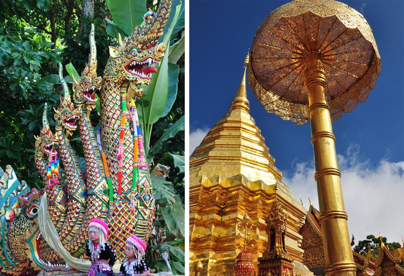 Doi Suthep tempel ingang