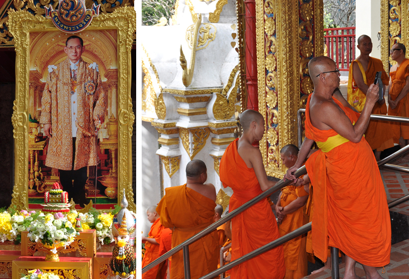 Doi Suthep tempel koning en moniken