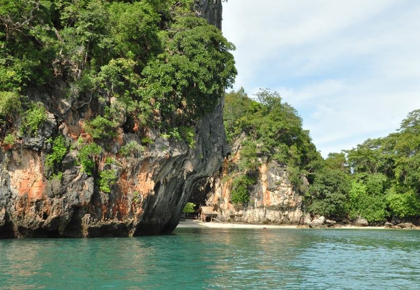Koh Lao La Ding eiland in in Zuid-Thailand