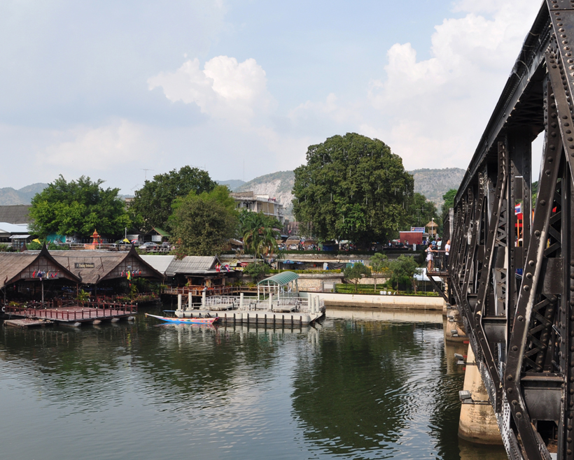 burg over river kwai in Thailand