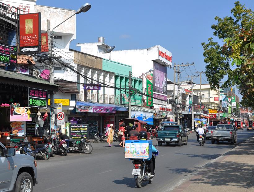 Chiang Mai verkeer in Thailand