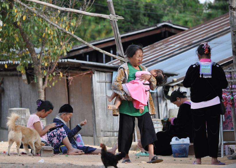 bergdorp noord thailand