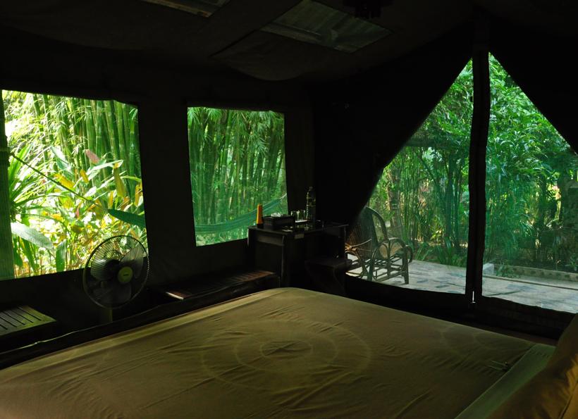 Elephant Hills kamer in Zuid-Thailand