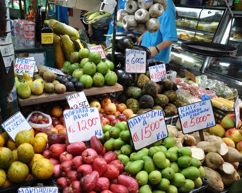 mercado central in San José centrum