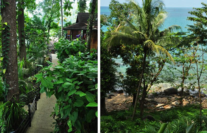Baan Krating bij strand Khao Lak
