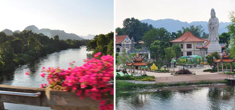 van Bangkok naar Kanchanaburi