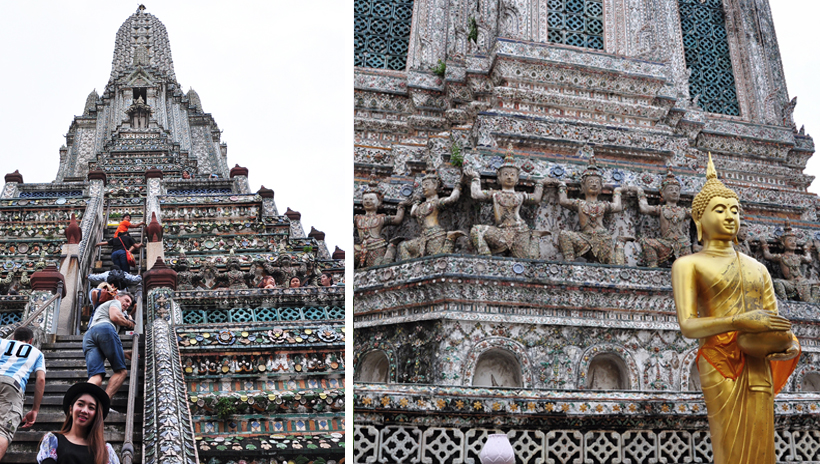 Wat Arun tempel in Bangkok