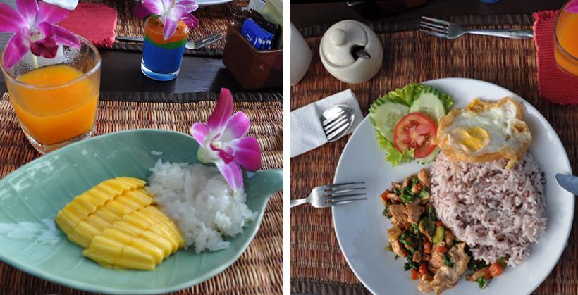 ontbijt in River Kwai resort