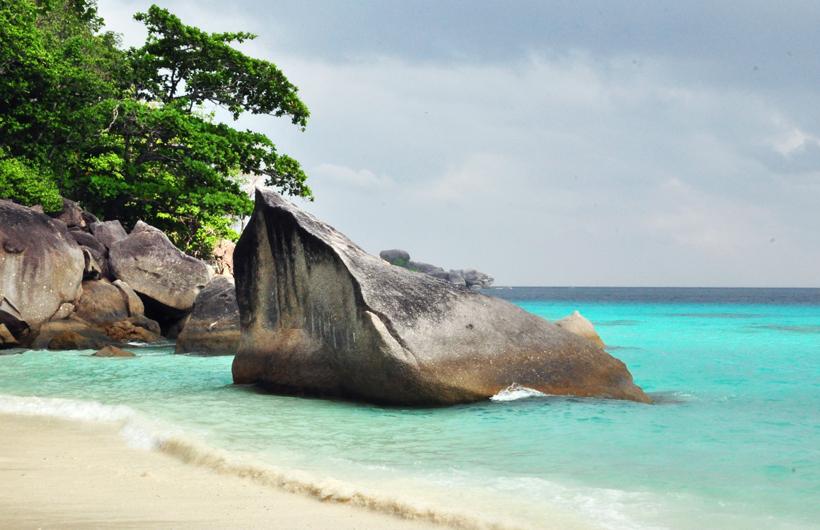 strand Similan eilanden