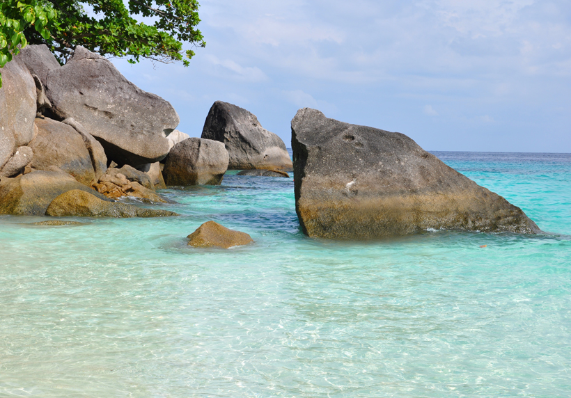 similan eilanden paradijs Zuid-Thailand