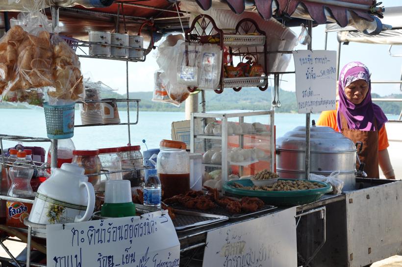 Koh Yao Noi manah Pier in Zuid-Thailand