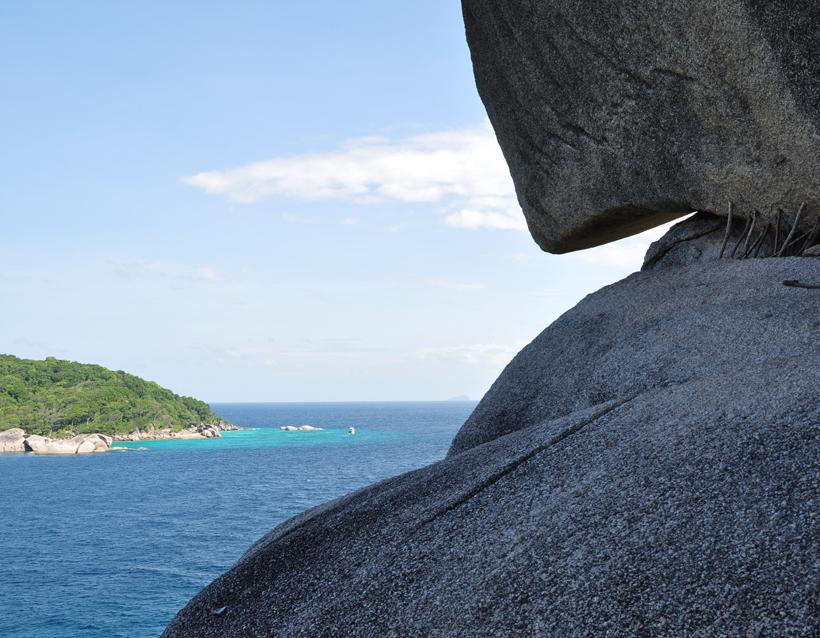 view point op de Similan eilanden
