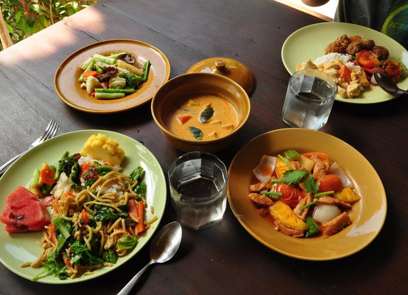 lekker eten in Elephant Hills