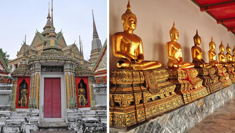 Wat Po tempel in Bangkok