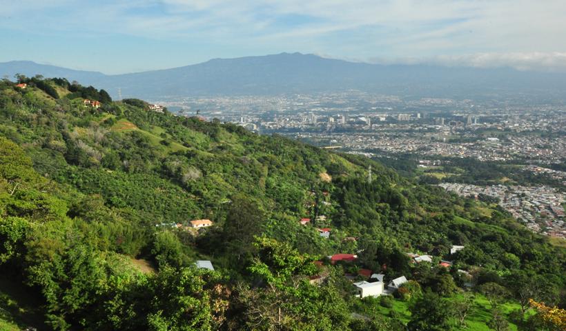 zicht op central valley