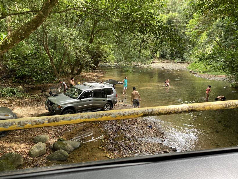 Tico's BBQ aan rivier